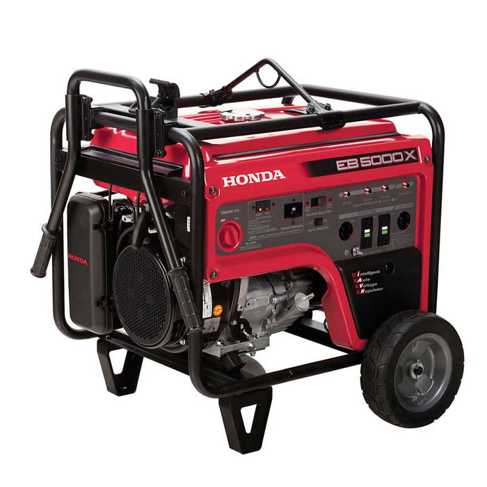 Honda EB5000X3AG 5000 Peak Watt Gas Industrial Generator HD Frame W/ CO Minder