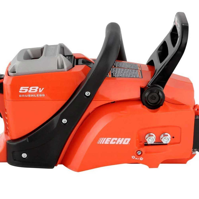 "Echo CCS-58V4AH 58V 16"" Cordless Brushless Variable Speed Chainsaw Kit"