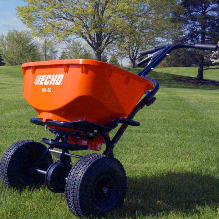 Echo RB-60 60LB Hopper Capacity T Handle Heavy Duty Spreader
