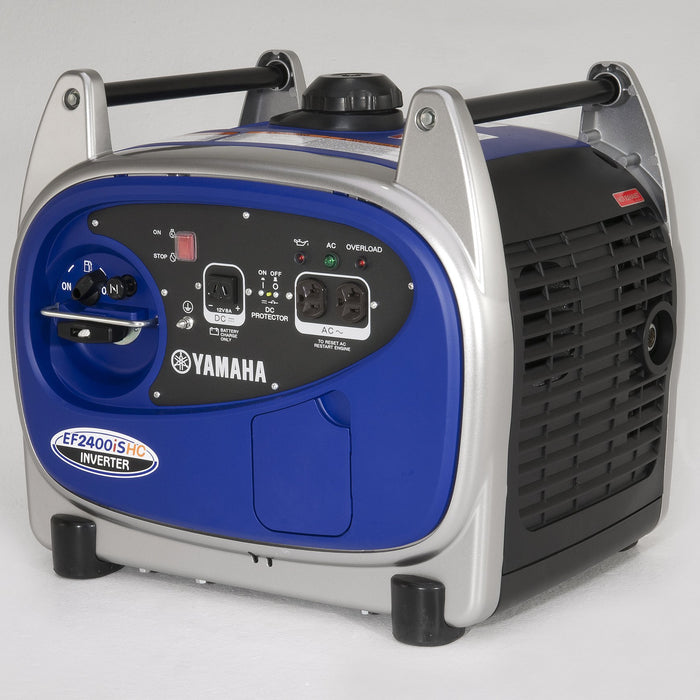 Yamaha EF2400iSHC 2400-Watt 120-Volt 20-Amp Portable inverter Generator - Scratch And Dent