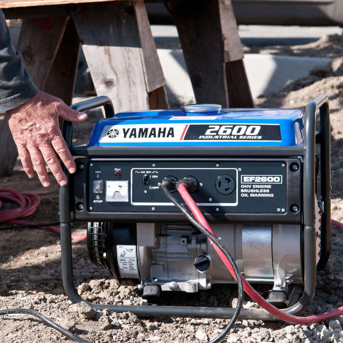 Yamaha EF2600 171cc 2,600-Watt 120-Volt 21.6-Amp Brushless Gas Powered Generator