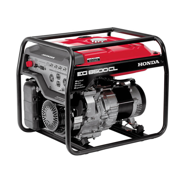 Honda EG6500 389cc 6,500-Watt 120/240-Volt Recoil Start Gasoline RV  Portable Generator