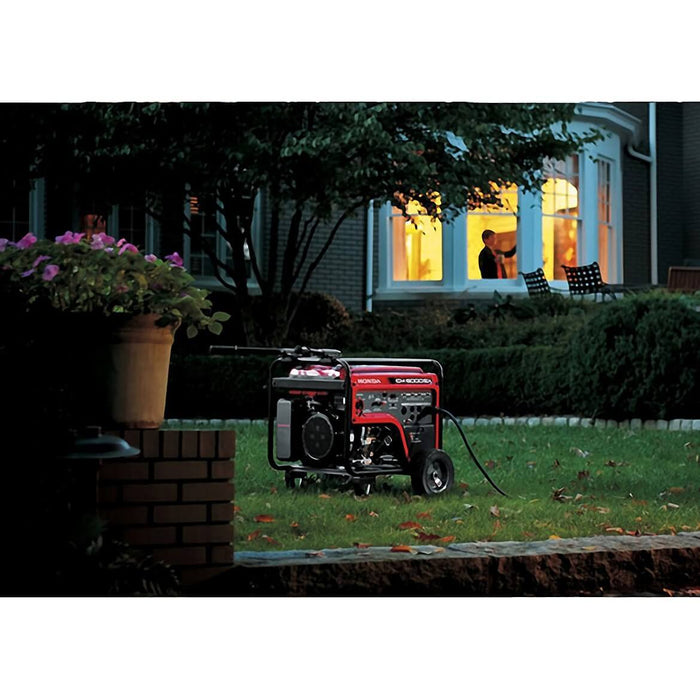 Honda EM5000S 389cc 5,000-Watt 120/240-Volt Electric Start Gasoline Generator