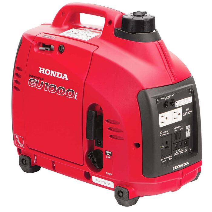 Honda EU1000i 1,000-Watt 120-Volt Super Quiet Light Weight inverter Generator