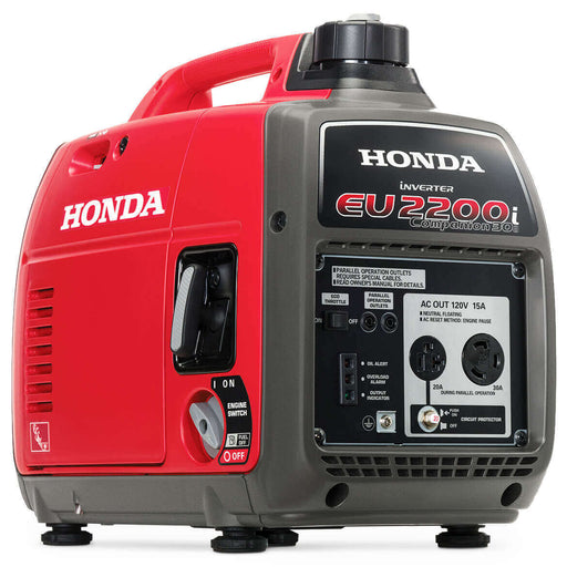 Honda EU2200ic 2200-Watt 121cc Companion Recoil Start Portable inverter Generator