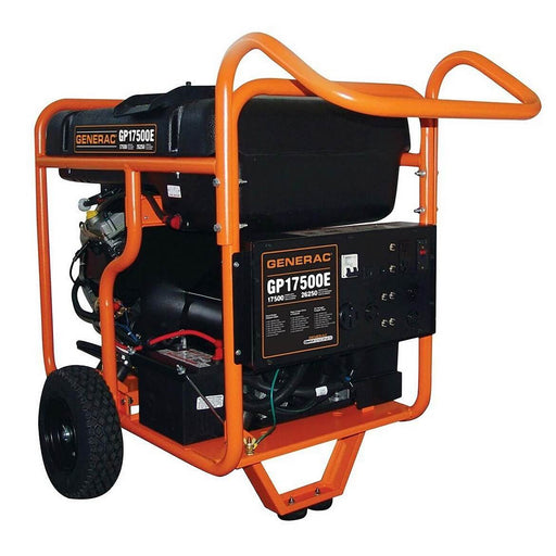 Generac GP17500E 992cc 17,500-Watt 120/240-Volt Electric Start Portable Generator - 5735