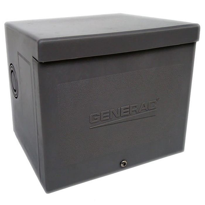 Generac GNC-6340 30 Amp 125/250V Raintight Resin Inlet Box Nema L14-30 Spring-Load