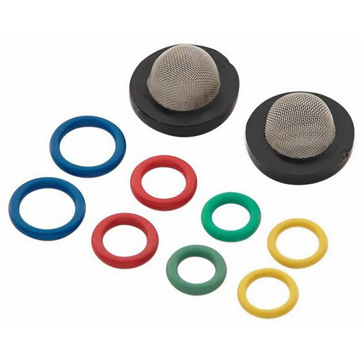 Generac GNC-6658 Replacement Inlet Water Filters & O-Ring Seals Kit For Power Washer