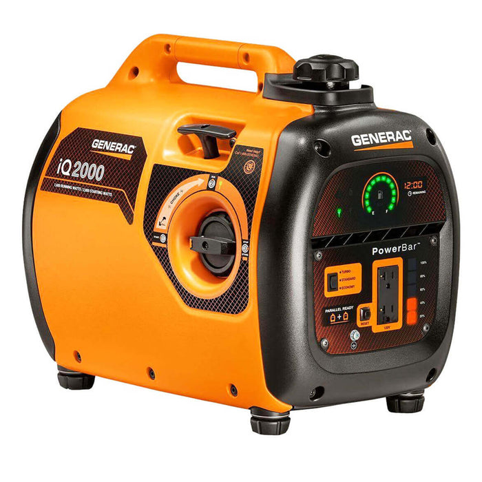 Generac 6866 iQ2000 2,000-Watt Recoil Start Portable Generator