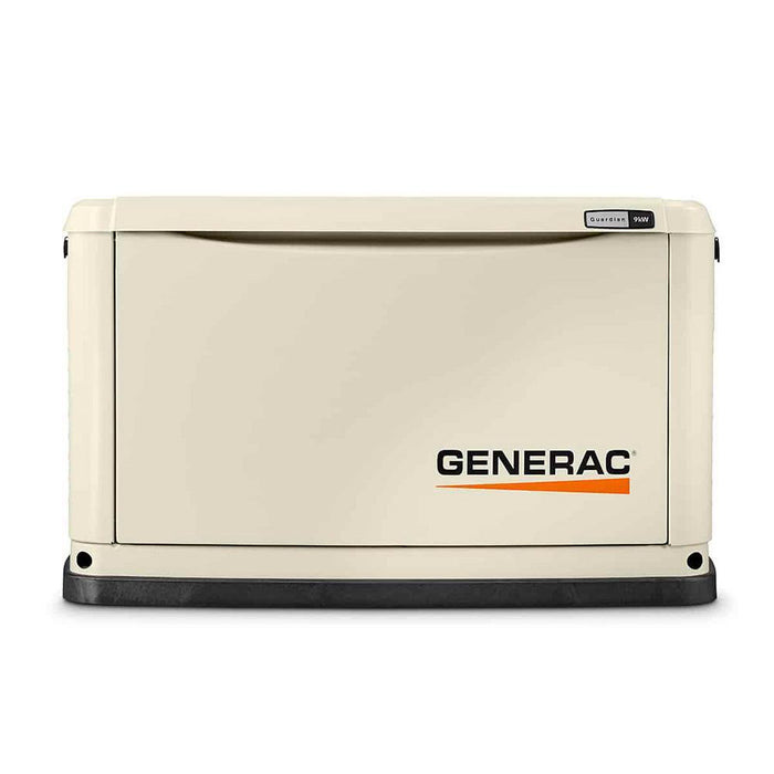 Generac 70301 9/8 kW Air-Cooled Standby Generator, Alum Enclosure, 16 Circuit LC NEMA3