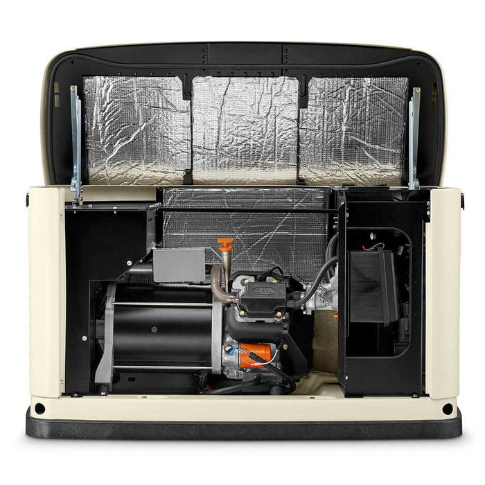 Generac 70771 20/17 kW Air-Cooled Standby Generator, Aluminum Enclosure - 3Ø
