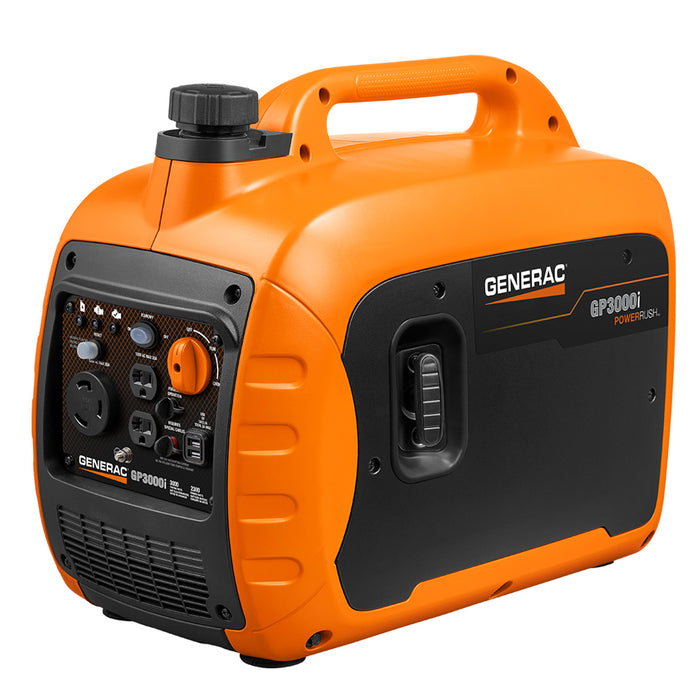 Generac GP3000i 3,000-Watt Gas Powered Recoil Start inverter Generator - 7129