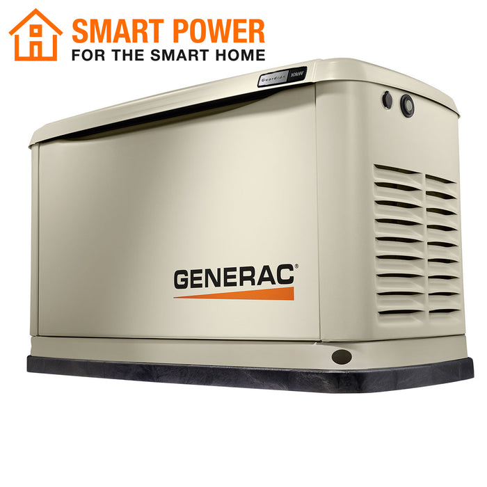 Generac 7171 10kW Air Cooled Home Standby Generator w/ WiFi