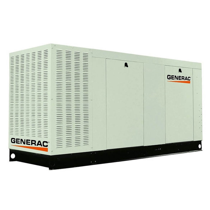 Generac QT13068ANAC 130kW 3,600-Rpm Commercial Series Aluminum Enclosed Generator