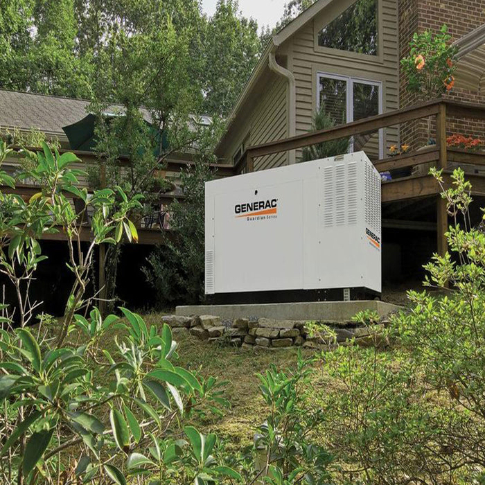 Generac RG02515ANAX 25kW 120/240V Single Phase Automatic On Standby Generator