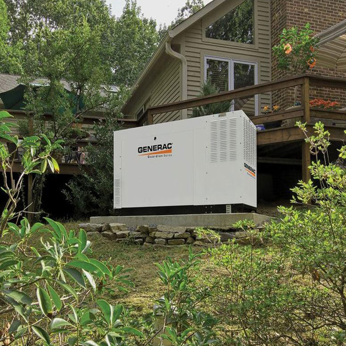 Generac RG04524ANAC 45kW 120/240V Single Phase Automatic On Standby Generator