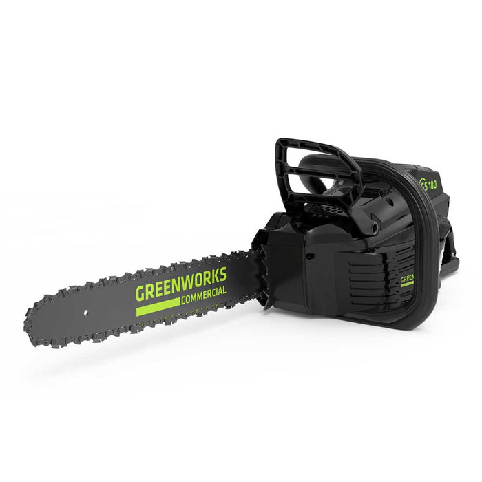 GreenWorks Commercial GS180 82V 18'' Cordless Brushless Chainsaw - Bare Tool