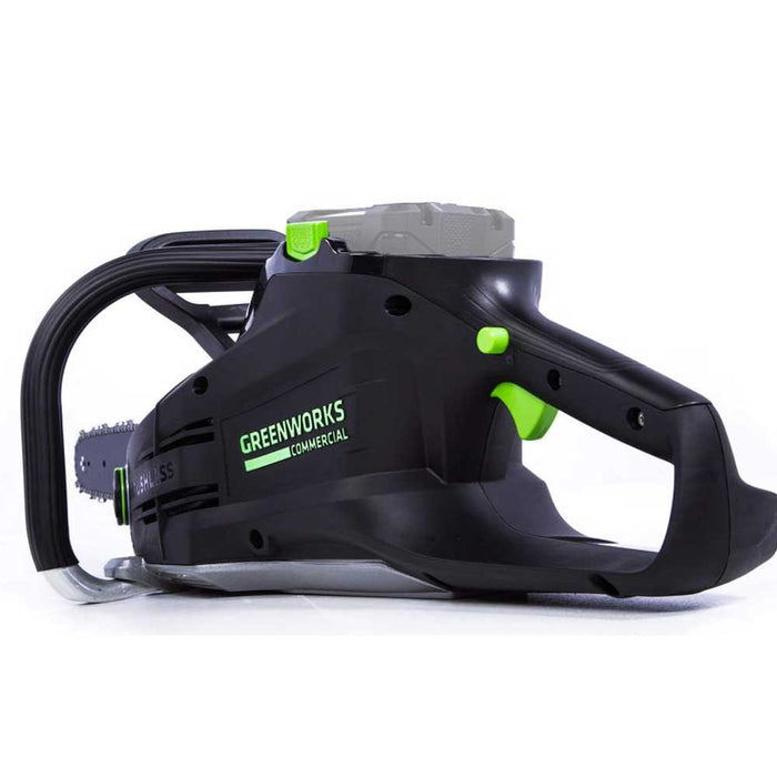 GreenWorks Commercial GS181 82V 18'' Cordless Brushless Chainsaw - Bare Tool