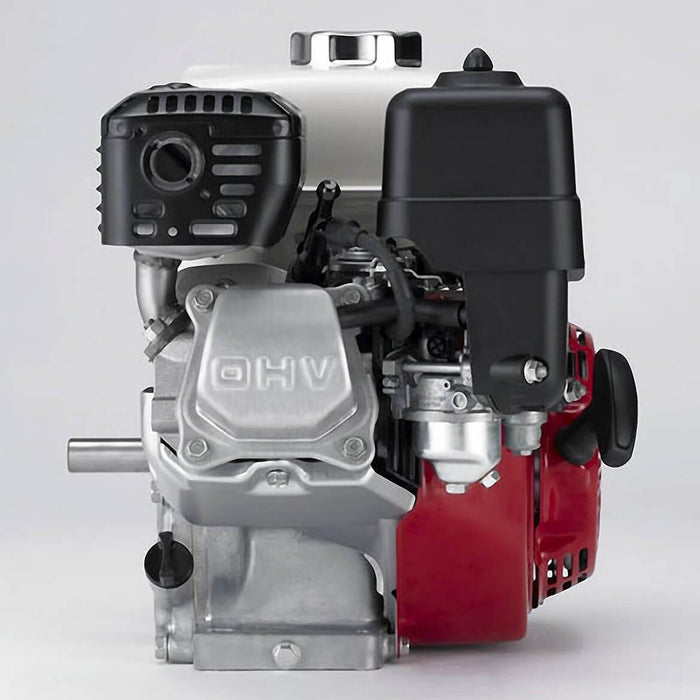 Honda GX160UT2QX2 160cc 4.8-Hp Recoil Start PTO OHV Horizontal Gas Powered Engine - Scratch and Dent