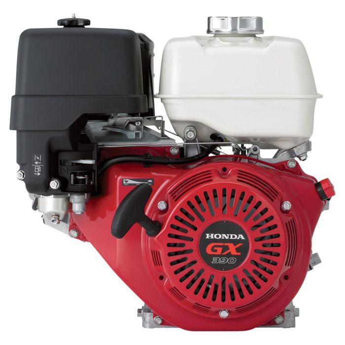 Honda GX390QNR2 390cc 11.7-Hp Keyed Shaft OHV HP Horizontal Gas Powered Engine - Scratch and Dent
