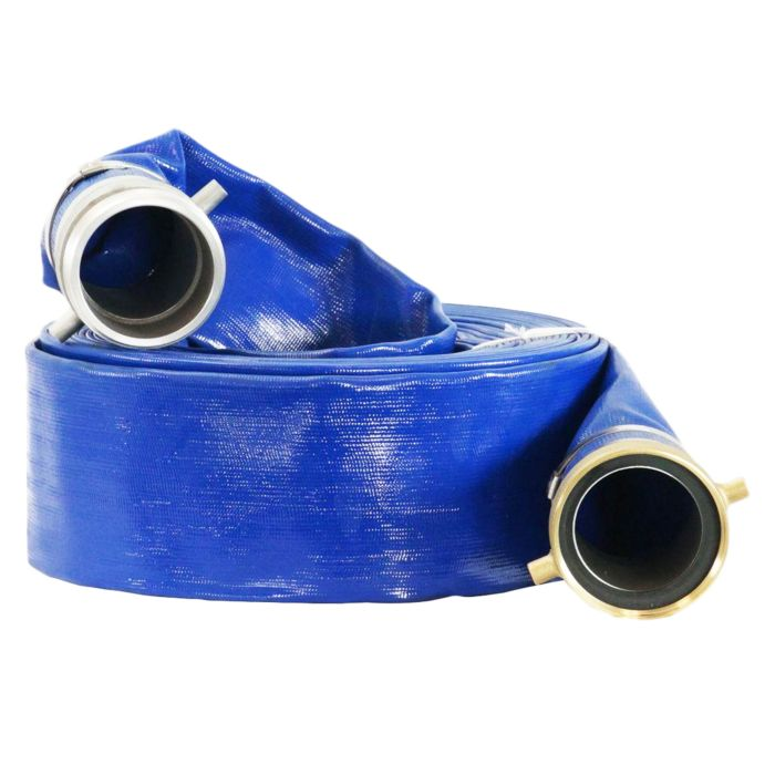 DuroMax 4-Inch x 50 Ft Discharge Evacuation Hose Water Pump - NPT Camlock - HP0450D