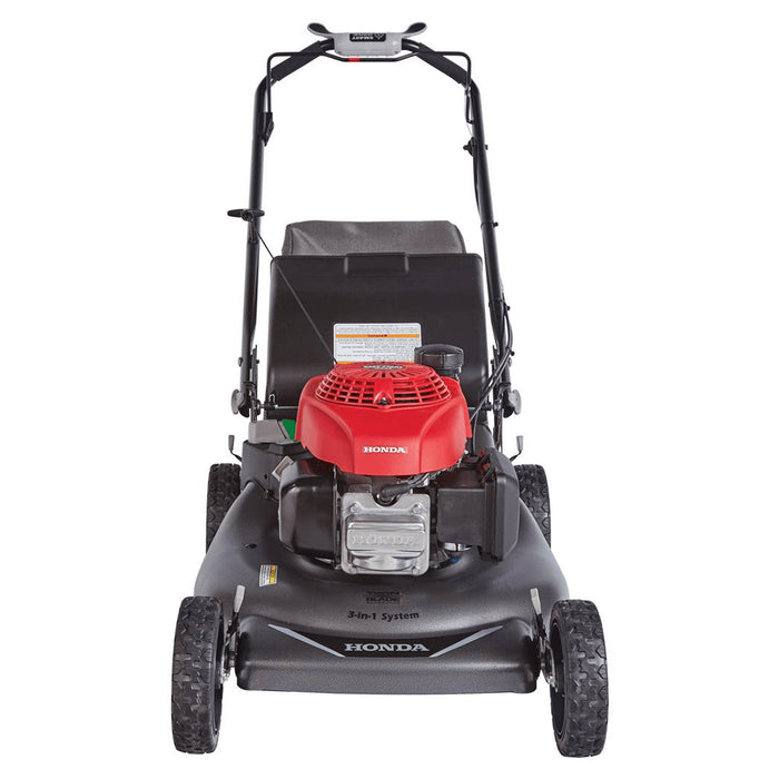 Honda HRR2110VKA 21-Inch 3-in-1 Self-Propelled Twin Blade Mulching Lawn Mower - Scratch and Dent