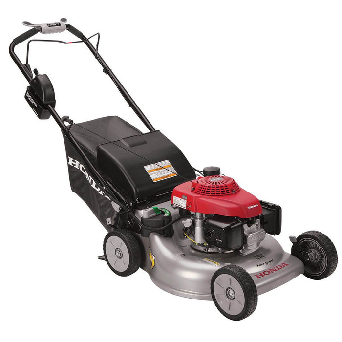 Honda HRR216VLA 21-Inch 3-in-1 Recoil Electric Start Lawn Twin Blade Lawn Mower - Scratch and Dent