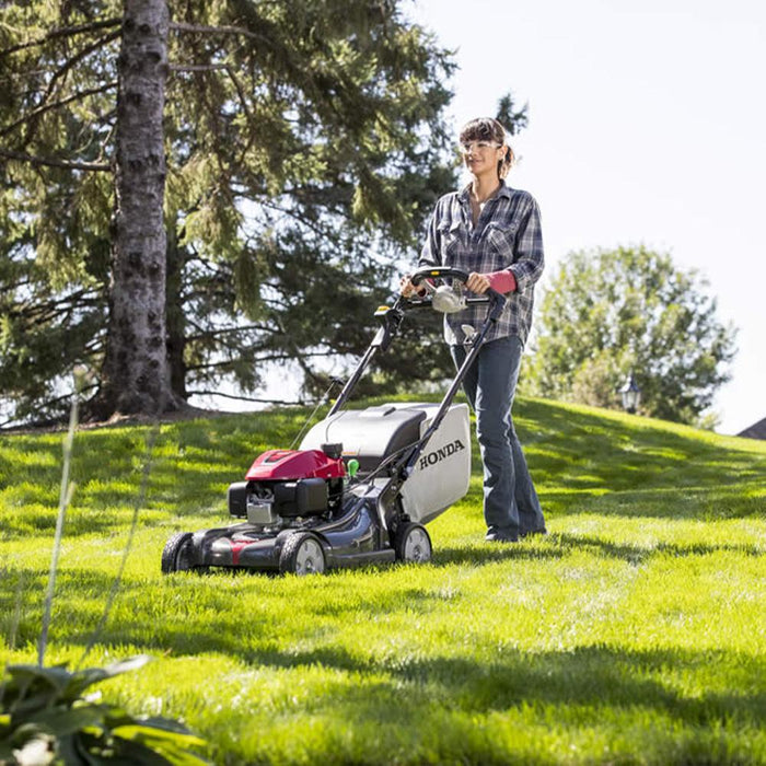 "Honda HRX217VYA 21"" 4-in-1 Versamow Self-Propelled MicroCut Lawn Mower - Reconditioned"