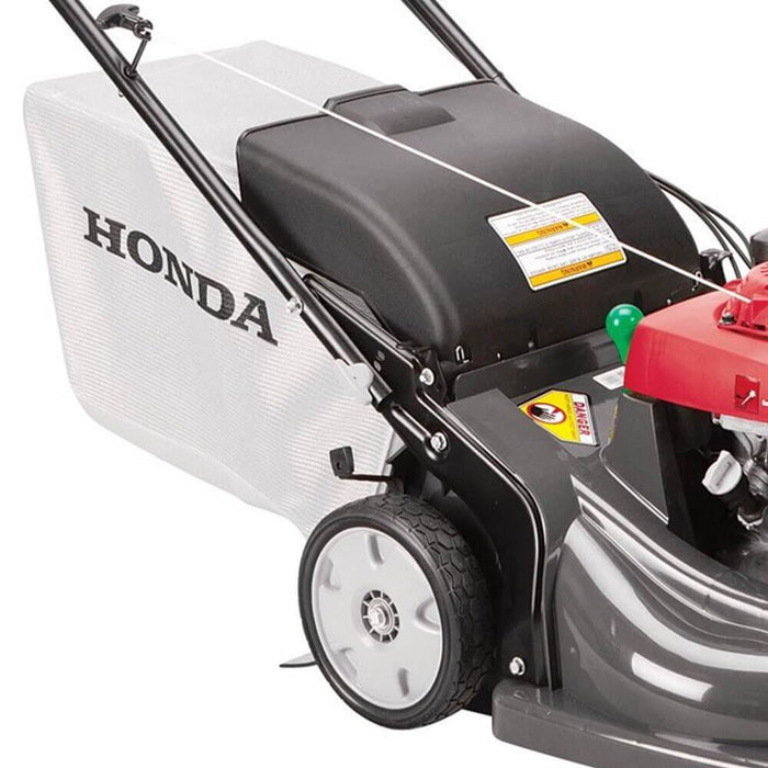 Honda HRX217HYA 21-Inch 4-in-1 Self Propelled Gas Roto-Stop Blade Lawn Mower - Scratch and Dent