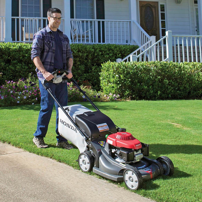 Honda HRX217VKA 21-Inch 4-in-1 Gas Self Propelled Walk Behind Lawn Mower - Scratch and Dent
