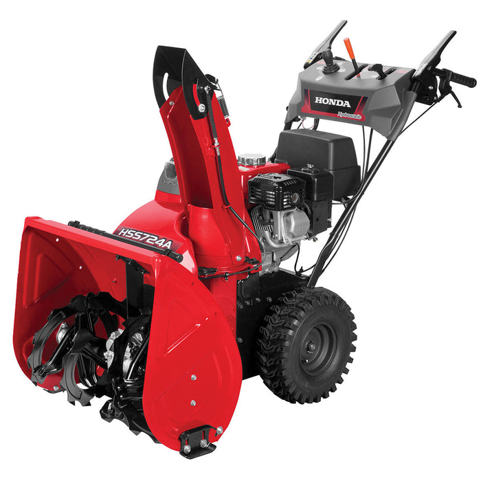 Honda HSS724AWD 198cc 24-Inch Two-Stage Wheel Drive Electric Start Snow Blower
