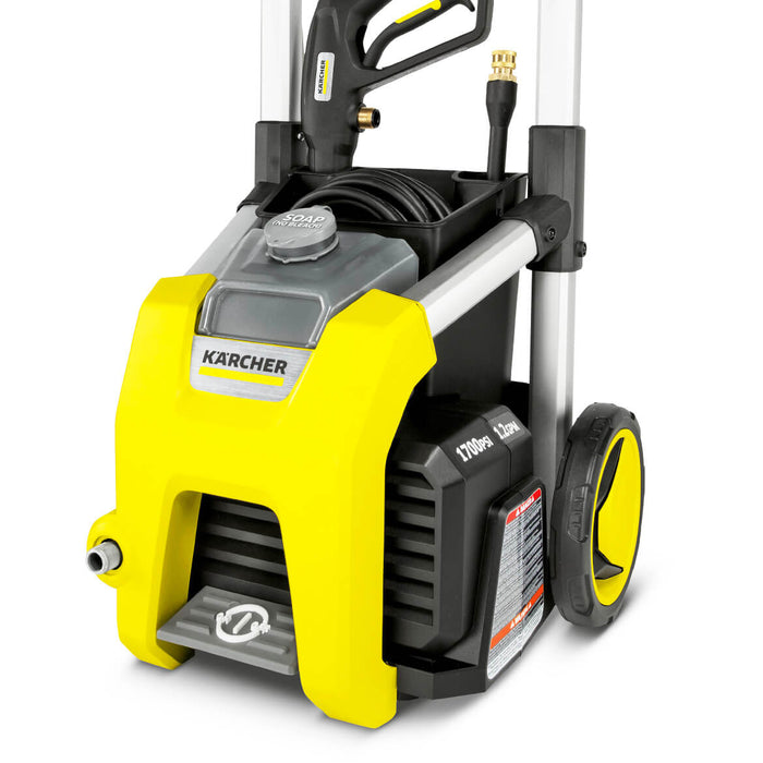 Karcher K1700 1,700-Psi 1.2-Gpm Cold Water Electric Pressure Washer w/ Wheel Kit - 1.106-109.0