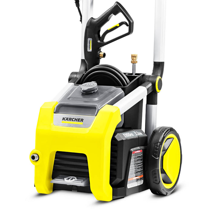 Karcher K1900 1,900-Psi 1.3-Gpm Cold Water Electric Pressure Washer w/ Wheel Kit - 1.106-111.0