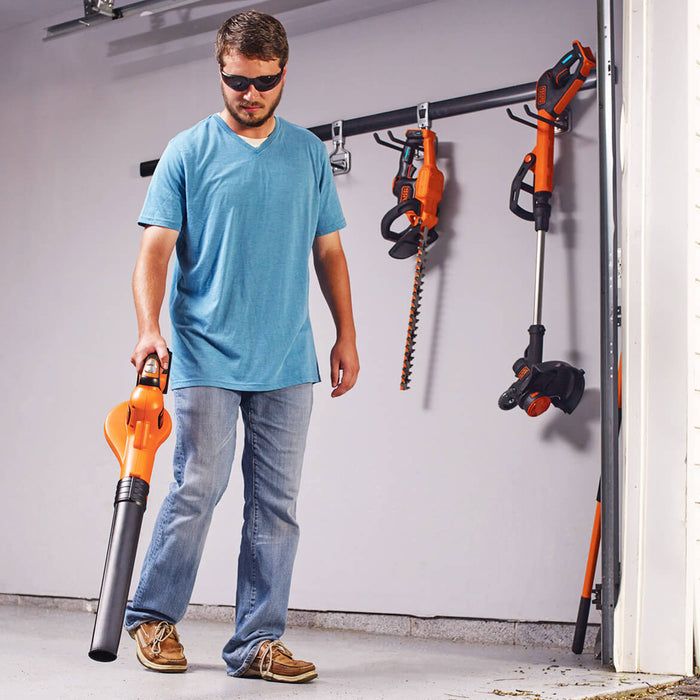 Black and Decker LCC520BT 20-Volt SMARTTECH String Trimmer and Sweeper Combo