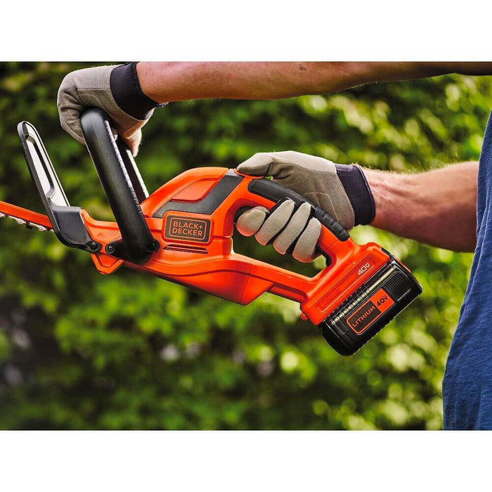 Black and Decker LHT2240CFF 40-Volt 22-Inch Lithium-Ion Hedge Trimmer