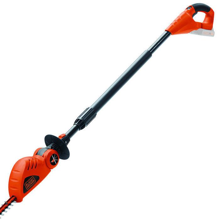 "Black and Decker LPHT120B 20V 18"" Cordless Pole Hedge Trimmer - Bare Tool"