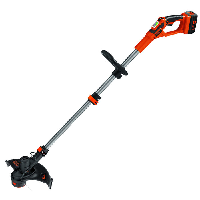 front view of the Black and Decker LST136R String Trimmer