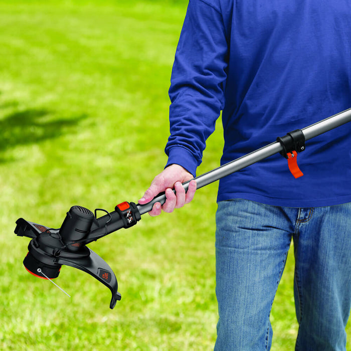 extending the Black and Decker LST136R String Trimmer
