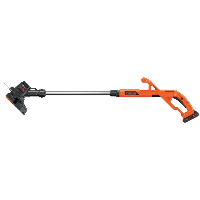 Side view of the Black and Decker LST201 String Trimmer
