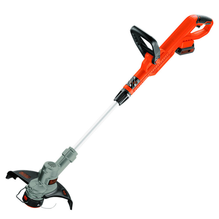 Front view of the Black and Decker LST300 String Trimmer