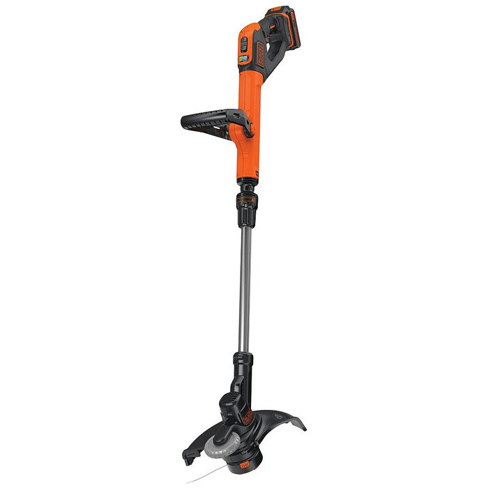 Front View of the Black and Decker LST522 String Trimmer
