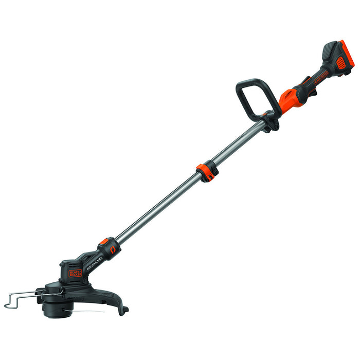 Front view of Black and Decker LST540 String Trimmer