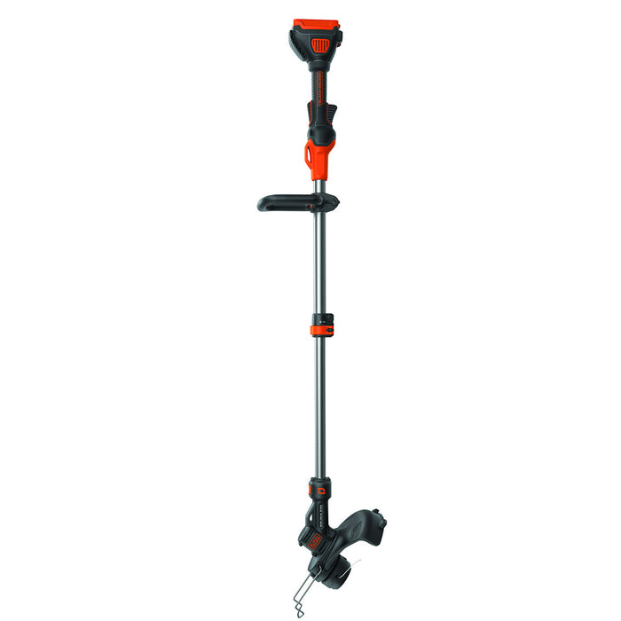 Side view of Black and Decker LST540 String Trimmer