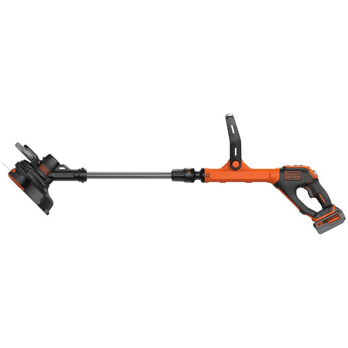 side view of the Black and Decker LSTE523 String Trimmer