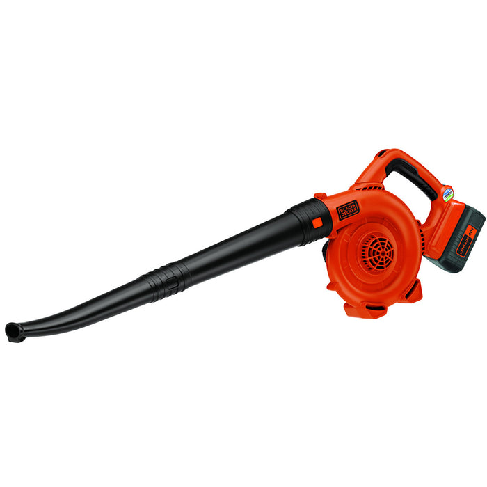 front of the Black and Decker LSW36 Leaf Blower