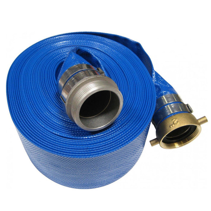 Multiquip HD1550 1-1/2-Inch Diameter 50-Foot Length NPT Thread Discharge Hose