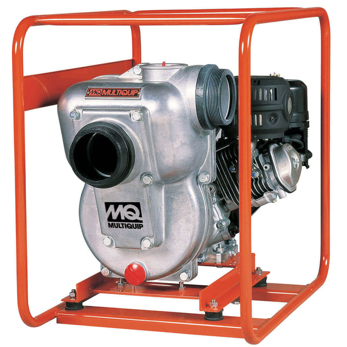 Multiquip QP402H 8-Hp 425-Gpm 4-Inch Suction Gas Powered Centrifugal Pump