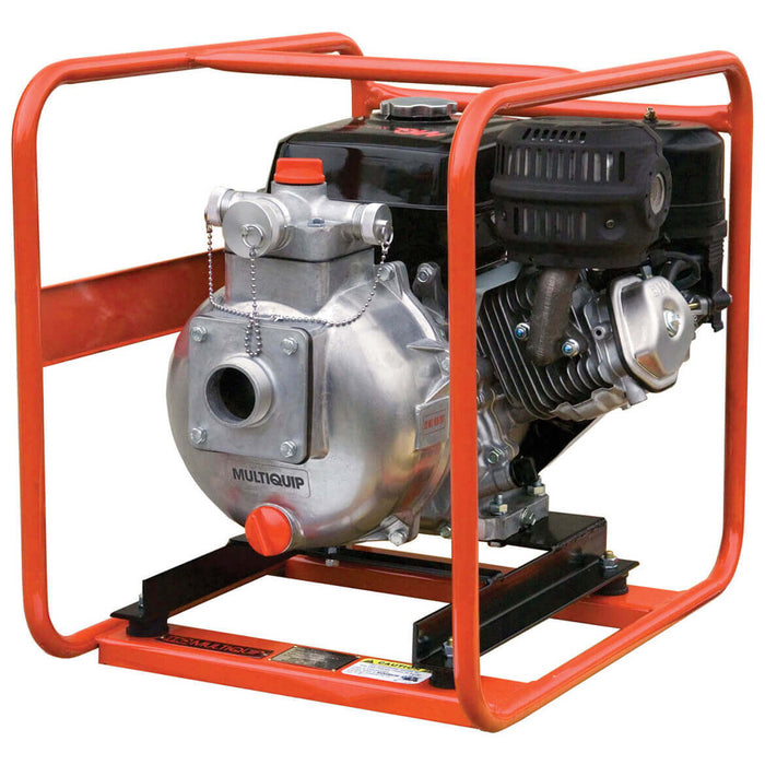 Multiquip QPT205SLT 7.9 HP 126 GPM 2-Inch Suction High Pressure Pump
