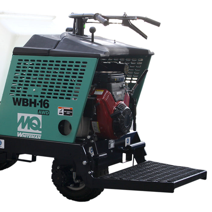 Multiquip WBH-16EF 16 Cubic-Foot Recoil/Electric Hydrostatic Power Buggy