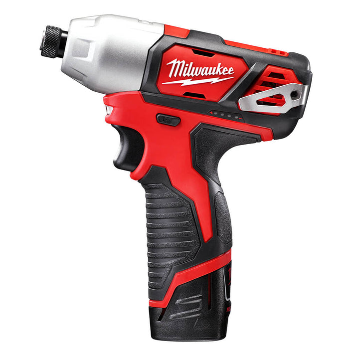 Milwaukee 2494-82 12-Volt 2-Tool Impact and Drill Combo Kit - Reconditioned